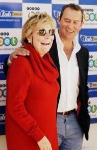 Dean with Lady Laidlaw at Kenilworth