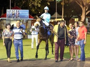 The elated Night Circus connections lead in their winner